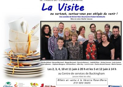 Affiche La Visite